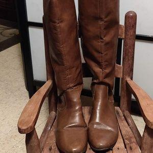 Aerosols Brown Knee High Boots Women's Size 11
